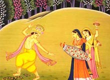 ... india indian art indian paintings rajput painting rajput painting