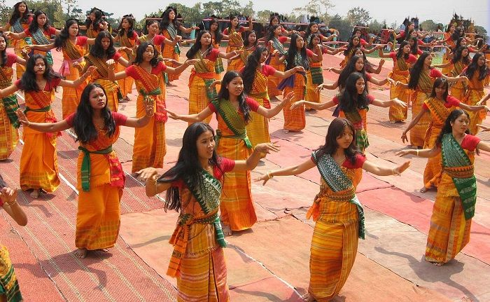 Folk Dances of Northeast India on ( ̄︶ ̄)↗  id=47152