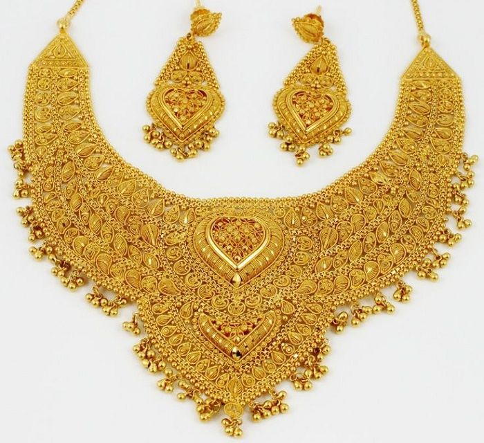 Handmade Gold Jewelry In India
