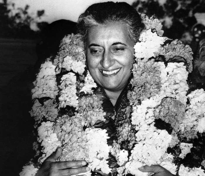 Indira as Congress President