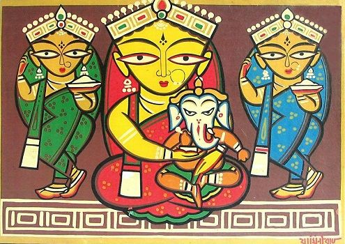 Jamini Roy Biography - Paintings & Artworks, Life History