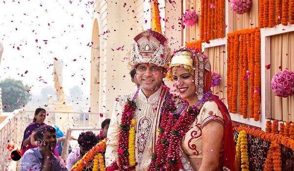 Traditional kashmiri bride