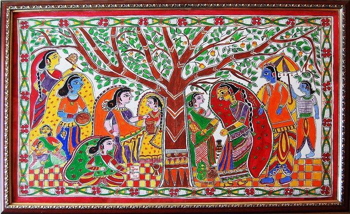 Madhubani (Mithila) Painting - History, Designs & Artists