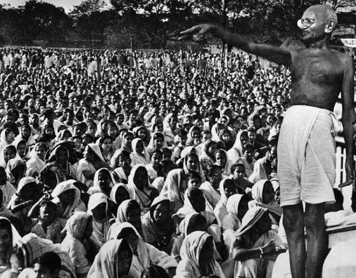 Role of Mahatma Gandhi in Freedom Struggle