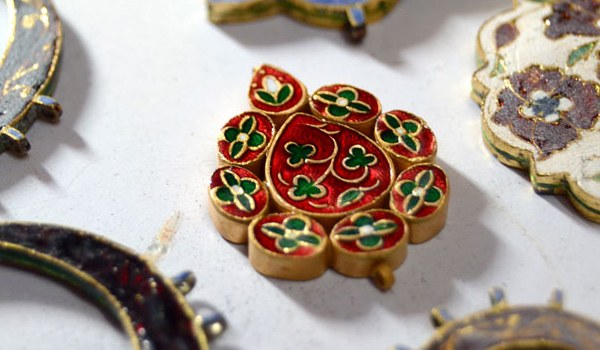 The increased demand for meenakari jewelry