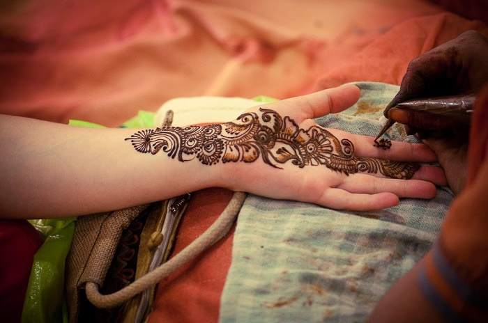 use of henna is considered immensely auspicious in many traditions around the world especially within hindus who would consider mehndi part of the