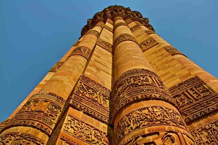 The tower was completed by Aibak�s son-in-law