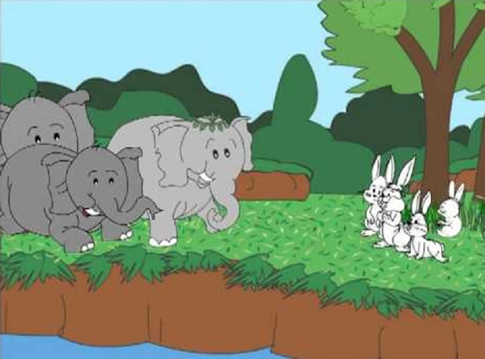 The Rabbits and the Elephants Story