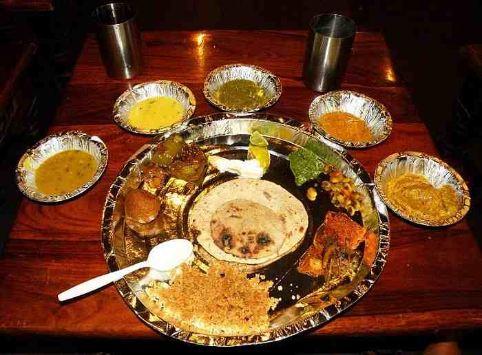Traditional Rajasthani Food Cuisine
