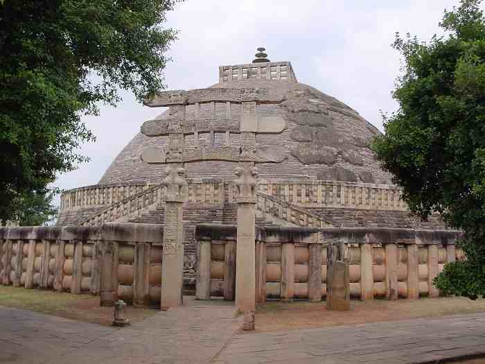 function of the great stupa at sanchi