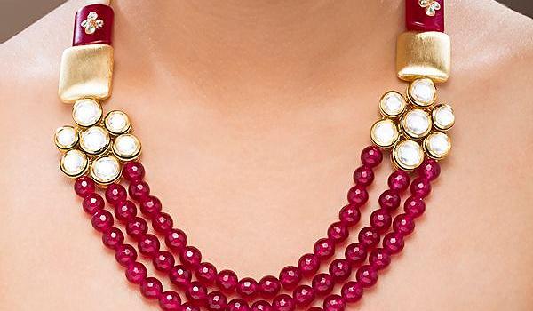 Semi Precious Stone Amp Gemstone Jewelry In India Types