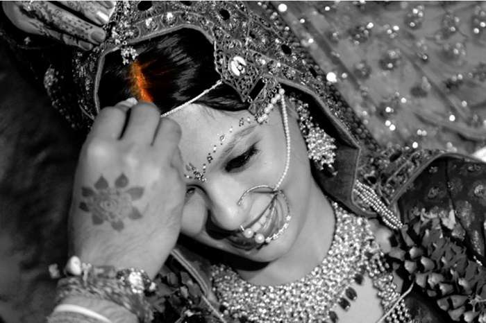 Sindoor plays an important role in Hindu married woman's life.