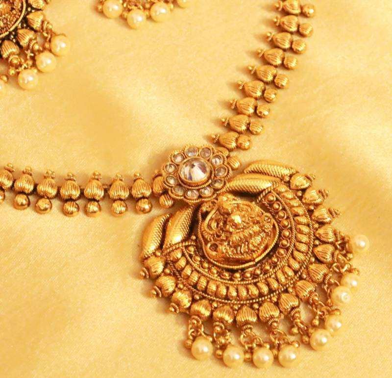 Indian temple jewelry types designs Design and style fashion jewelry