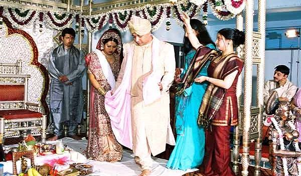 The Ritual Is Performed Twice Once On Day Befor Wedding And Also Of To Ensure That This Groom Same As Before