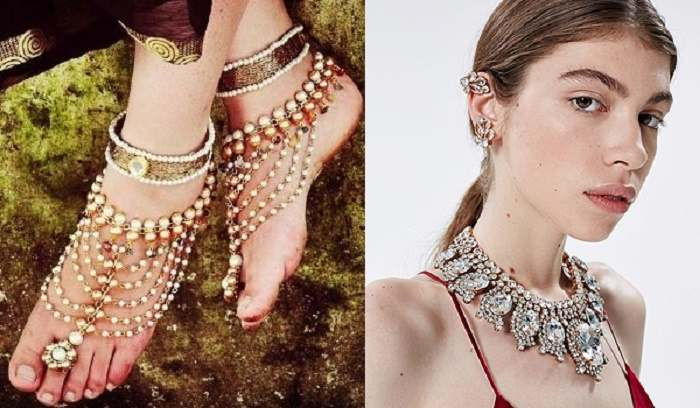 Indigenous temple jewelry