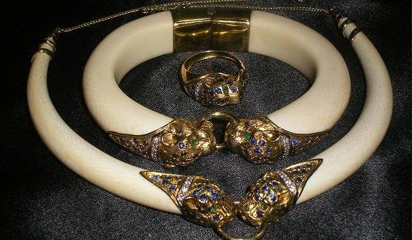 Tradition of Ivory Jewelry in India