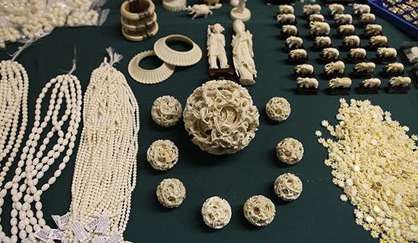 Ivory has been used for both manufacturing
